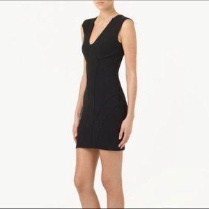 Black Aritzia Talula Woodhaven Bodycon Dress